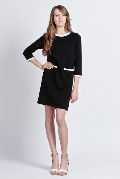 Sukienka, suk103 czarna - Lanti_Official - Sukienki