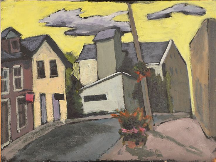 Artist Keith Thirgood Elora Ontario Mill Acrylic  - http://www.wilsonstreetstudios.com/