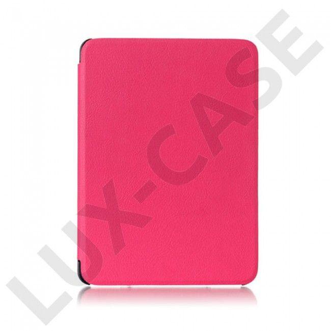 Amdrup Amazon Kindle Voyage Flippetui av lær - Varm rosa - GRATIS FRAKT!