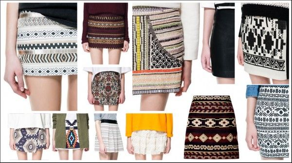 Faldas Zara Verano 2013 - Catálogo Moda Mujer