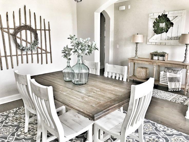 Farmhouse decor! Fixer Upper style