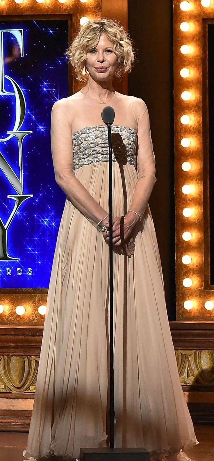 La cara de Meg Ryan impressiona  #Actriu #MegRyan #PremisTony #Estètica La #BeaconTheatre
