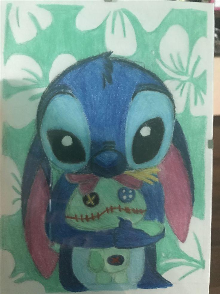 Stitch, Lilo & Stitch, drawing