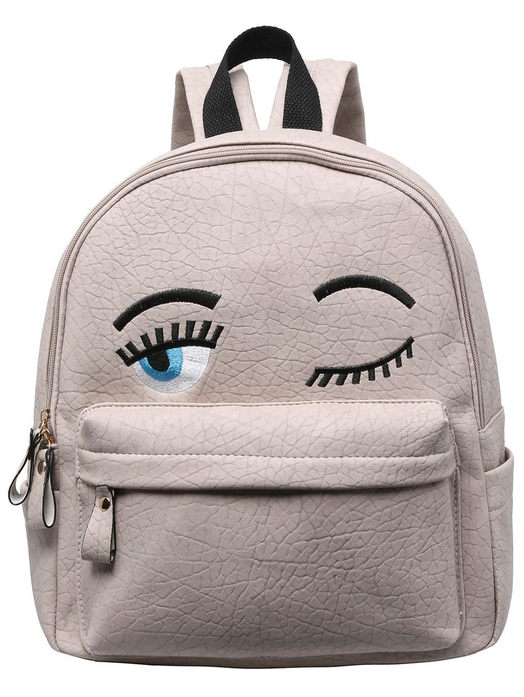 Shop Grey Eyes Pattern PU Backpack online. SheIn offers Grey Eyes Pattern PU Backpack & more to fit your fashionable needs.