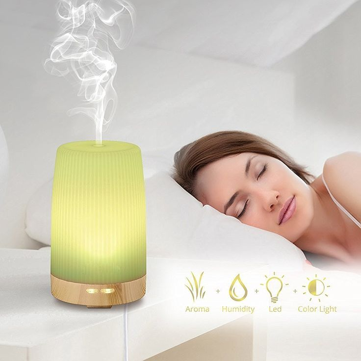Essential Oil Diffuser In Child S Room