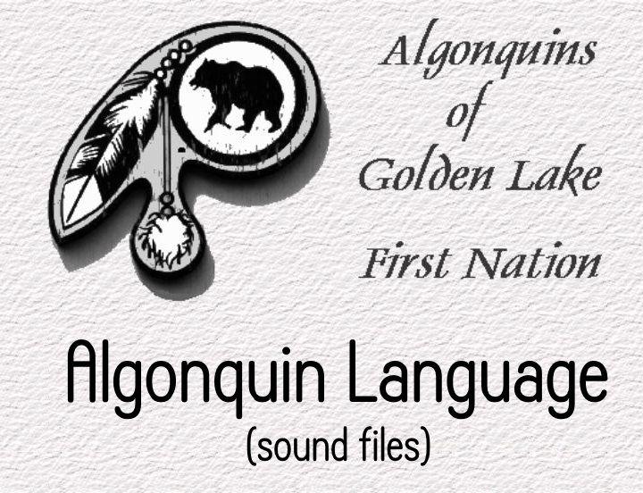 Algonquin language - Audio