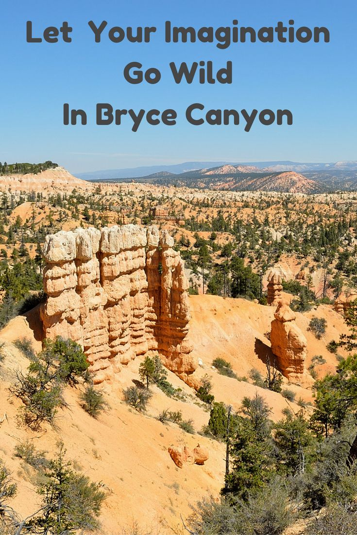 Bryce Canyon. Why don't you let your imagination go wild there?