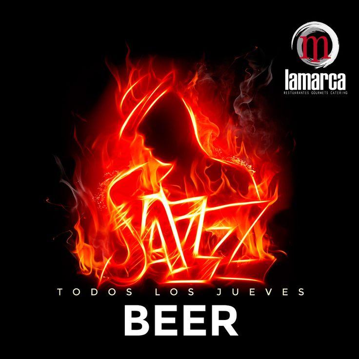 Jueves noche. Jazz en directo acompañado de la mejor cerveza de importación del Mercado.