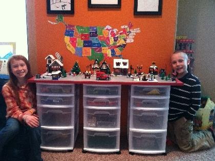 easy lego storage