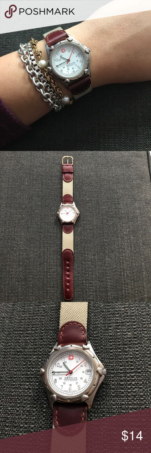 Swiss-Made Wenger Watch Good used condition, just needs a battery! Wenger Accessories Watches