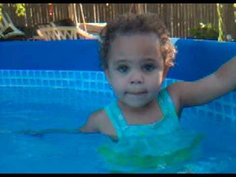 Kassidy swims with her mermaid Barbie (+playlist) -- Over 200,000 views. It's just so cute!