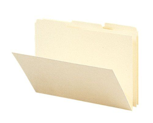 Amazon.com: Smead Recycled Card Size File Folders, 1/3 Cut Top Tab, 9 x 6 Inches, Manila, 100 per Box (20630): Office Products