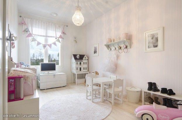 Myytävät asunnot, Härkilevontie 5, Lempäälä #oikotieasunnot #lastenhuone #kidsroom