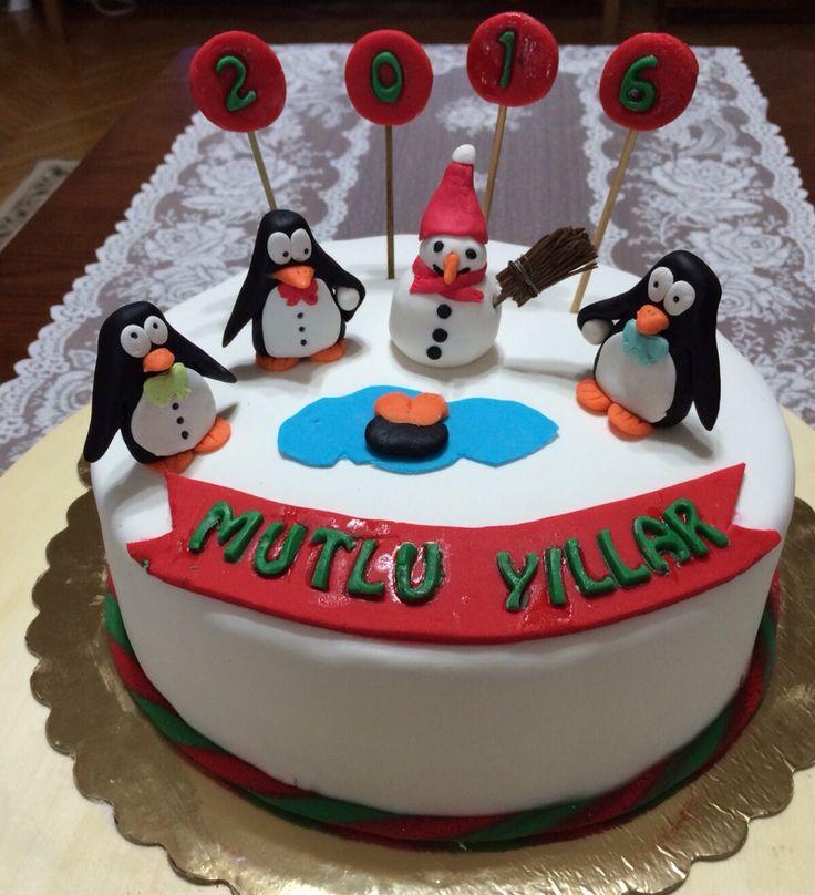 Yeni yıl pastam...