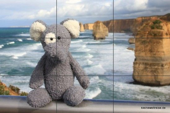 Photography and Composition: the rule of thirds helps / Fanta und die Drittel-Regel in Foto-Komposition an den 12 Apostel der Great Ocean Road  #photography #composition #fotografie #learnphotography http://www.kleineweltreise.de/komposition-von-fotos-10-kniffe-fuer-schoenere-bilder/