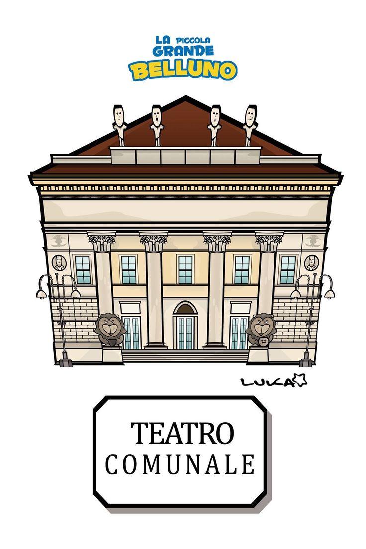 Teatro Comunale Belluno Dolomiti Veneto Italia by Luca Stella