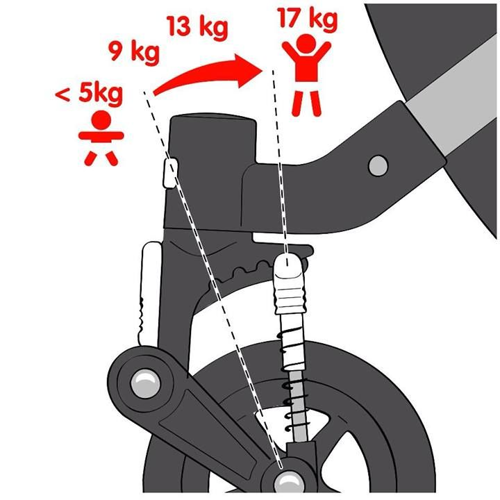 Bugaboo Cameleon 3 suspension guide