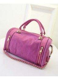 P212-ROSE Material :  PU leather Length:       32 cm Height:       21 cm Depth:           12 cm  Bag Mouth:  Zipper Long Strap:     yes 1 kg   ..