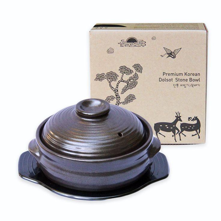 Crazy Korean Cooking Korean Stone Bowl Dolsot Sizzling
