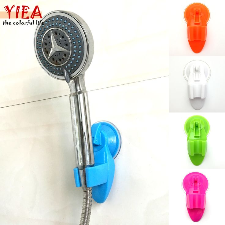 Home Bathroom Vacuum Holder Wall Suction Cup Wall Mount Adjustable Shower Head Holder #clothing,#shoes,#jewelry,#women,#men,#hats,#watches,#belts,#fashion,#style