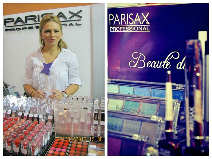 #ParisaxProfessional la Romexpo #makeup #beauty #parisax