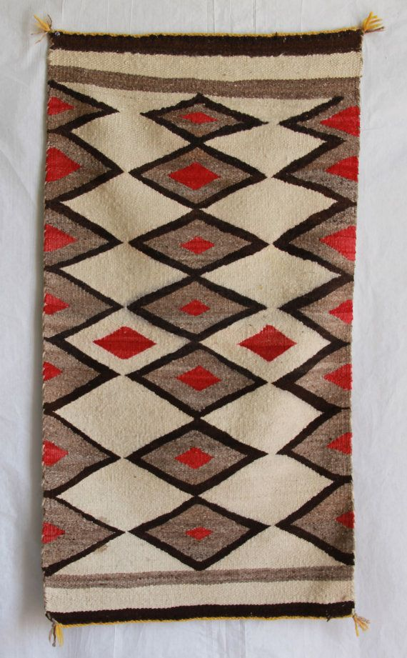 Native American Navajo Rug On Etsy 385 00
