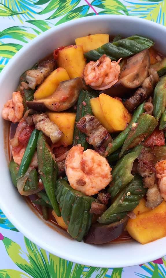 Pinakbet Mixed Vegetables In Shrimp Sauce Pinakbet Pinakbet Recipe Easy Vegetable Dishes