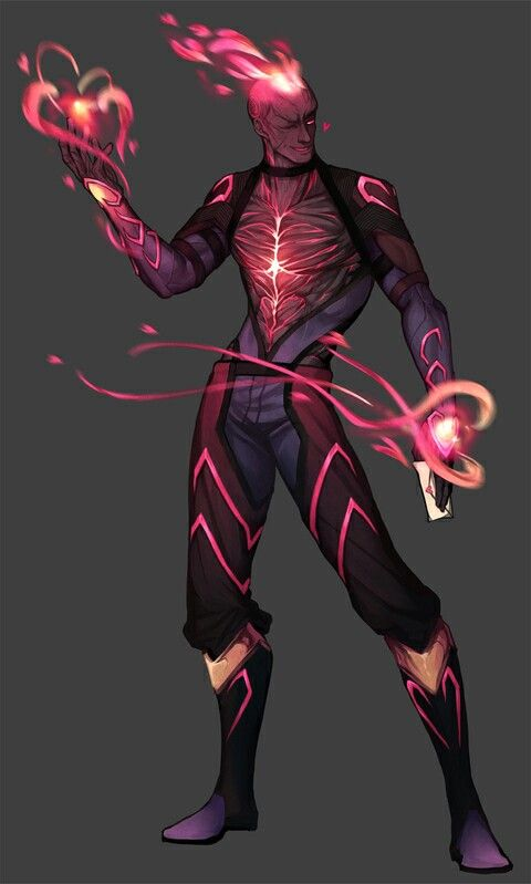 New skin idea: Heartseeker Brand (Maybe not since ...