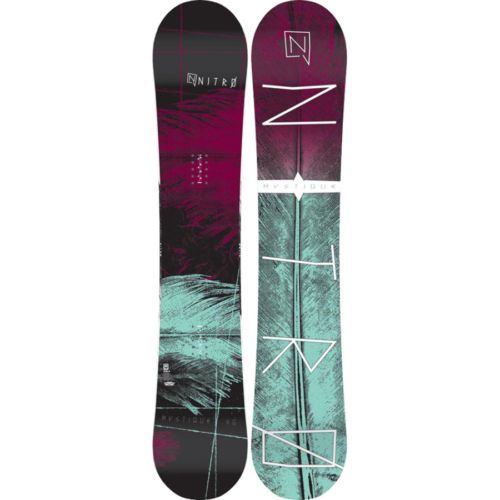 New 2014 Nitro Mystique Womens Gullwing Snowboard 146 cm