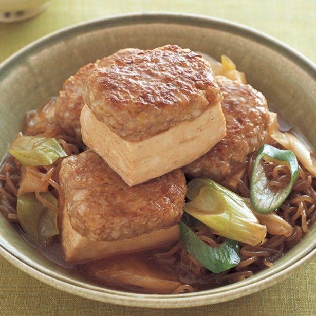 おだしの染みた肉汁がジュワ~! 豚ひき肉を使った和風料理5選 画像(1/5) 「のっけ肉豆腐」 レタスクラブニュースより