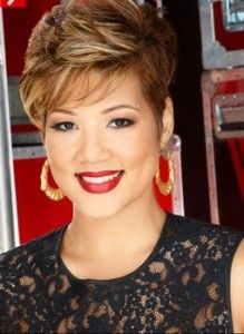Tessanne Chin on The Voice 11/18/13 >>> I'm getting my hair cut like ...