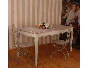 Gigantischer Vintage Esstisch Shabby Chic Landhaus.