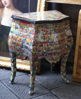 decoupage med Anders And blade #anders and decoupage