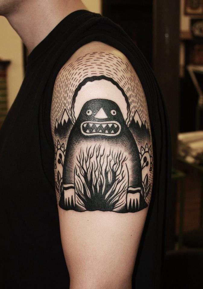 Moomin Fans- the groke (?)