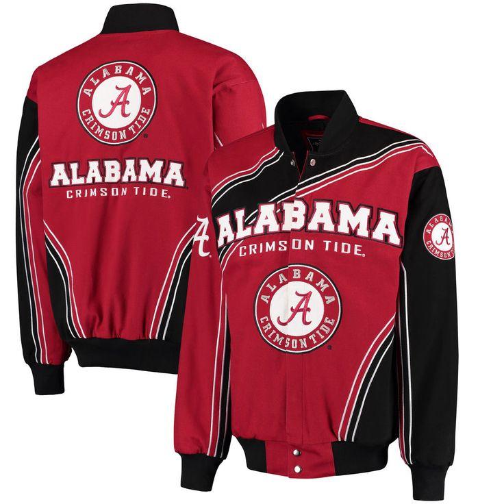 Alabama Crimson Tide Warrior Jacket - Crimson