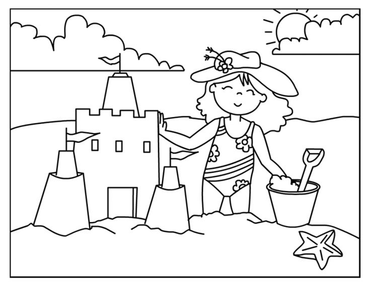 oltre 25 fantastiche idee su disegni da colorare estate su
