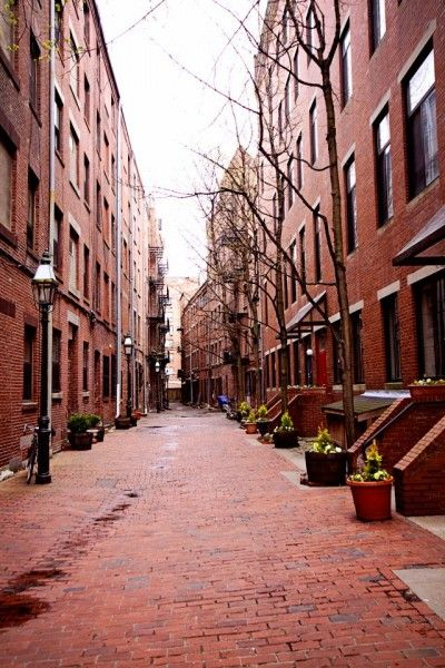 North End, Boston.  We loved this area--the best Italian food we've ever had.