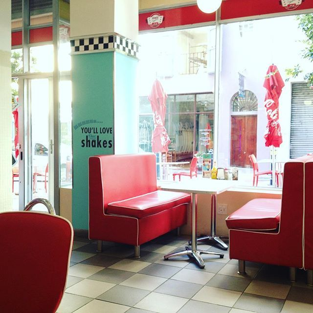 Joes Easy Diner at 74 Shortmarket Street Cape Town.