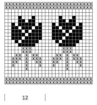 Mustrilaegas: Kirjatud kudum / Patterned knits