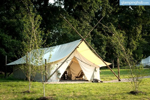luxury #tent in the french countryside. don't mind if we do. #glamping #glampinghub