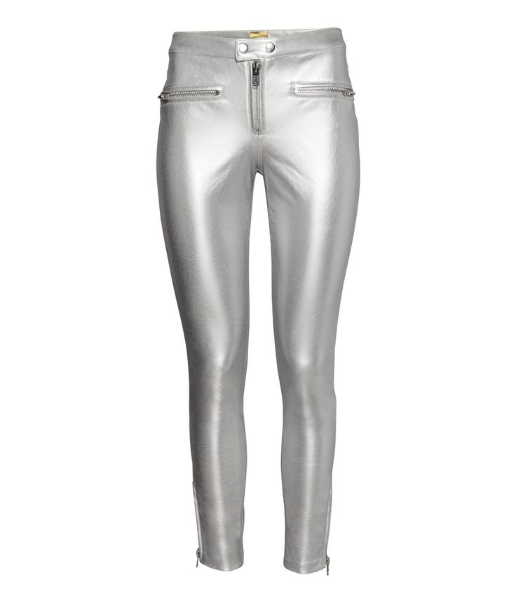 Bikerhose | Silberfarben | Damen | H&M DE