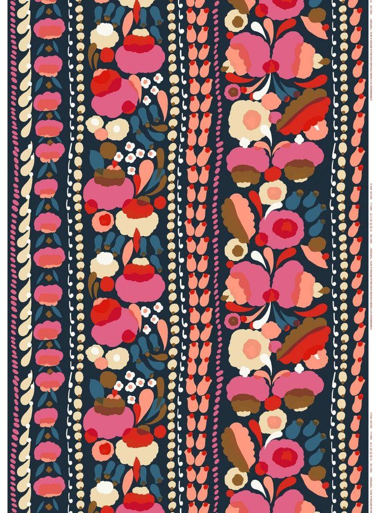 Marimekko Tuppura print fabric