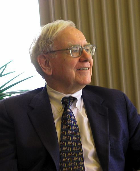 I would imagine that when you're a billionaire like Warren Buffett, people are always asking you how you got to be so rich. He's probably been asked this question so many times that he's sick of an...