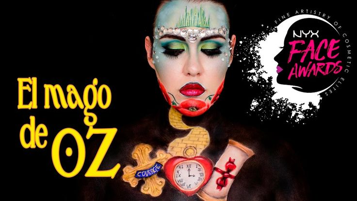 "NYX COSMETICS SPAIN FACE AWARDS ""Mago de OZ"" - TOP30 - 