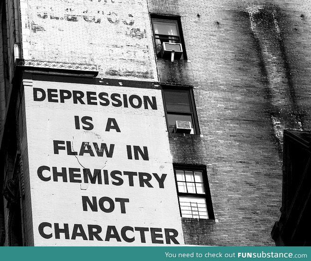 Depression does NOT discriminate.  Young or old. Rich or poor. In health or illness.  Do not be quick to judge for you have no idea what the other is going through. Reach out. Repeatedly if need be. Don't give up.-jw