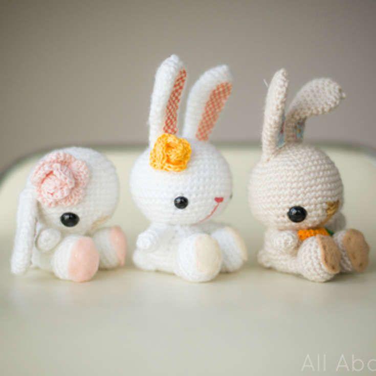 Free Amigurumi Rabbit : Images about amigurumi on pinterest patterns
