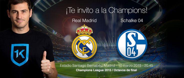 Gana 2 entradas para el partido de Champions Real Madrid vs Schalke