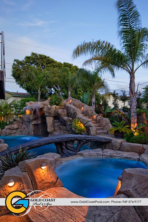 Ultimate landscaped backyards google search out back for Pool design gold coast