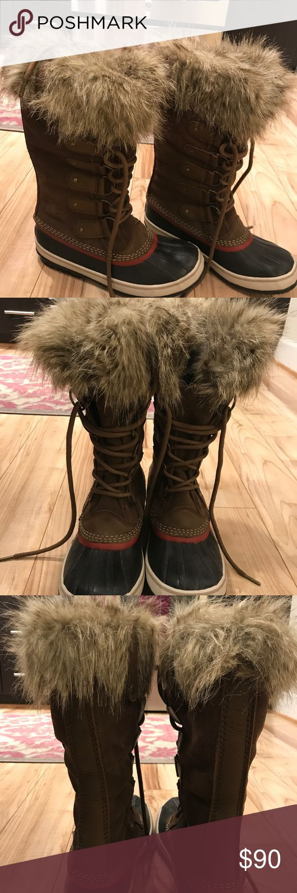 Sorel Joan of Arctic Women's Cold Weather Boots Sorel Women's Joan of Arctic winter boots worn one time, like brand new! Sorel Shoes Winter & Rain Boots