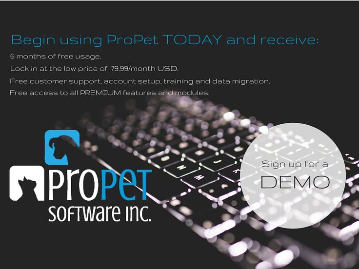 Book Your Demo with ProPet!  http://hubs.ly/H01sFzS0